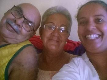 Ouvintes Wilson e Lucia Recebendo Visita e Brindes em Resende - RJ